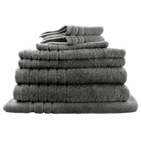 Egyptian Cotton Bath Towel or Bath Sheet 8 Pieces Value Sets 8 Colours