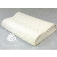 Hybrid Latex Plus Wool Pillow Therapeutic Design