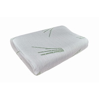 Bamboo Latex Therapeutic Design Contoured Pillow